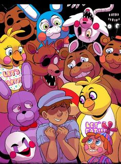 Image via We Heart It https://weheartit.com/entry/149061346 #fanart #kawaii #lol #2.0 #fivenightsatfreddy's #fnaf #fivenightsatfreddy's2