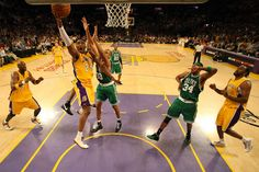 see a lakers boston final at the staples centre