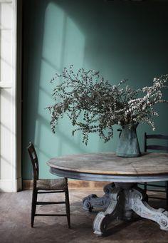 Veronese Green BMoore's new luxe paint line CENTURY
