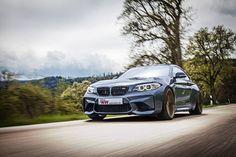 Mehr Fahrfreude im neuen BMW M2:  KW Gewindefahrwerke für mehr Fahrdynamik entwickelt