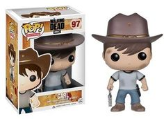 Figurine POP Walking Dead Carl - Geek Store