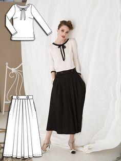 Twenties Sophistication: 8 New Patterns – Sewing Blog | BurdaStyle.com