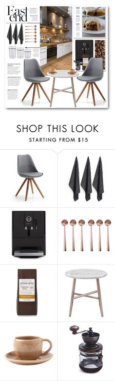 """Modern Kitchen"" by crblackflag on Polyvore featuring interior, interiors, interior design, home, home decor, interior decorating, Jura, canvas, Iacoli & McAllister and Toast"