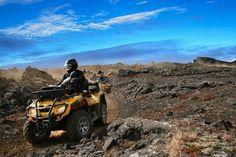 Dette blir en opplevelsesrik langweekend på Island. Det blir både bading i den Blå Lagune, heldagstur med Super-Truck og 2 timers safari på ATV.