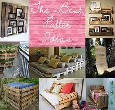 The best pallet ideas and tutorials diy