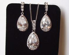 Bridal Jewelry Set Wedding jewelry Set by nefertitijewelry2009