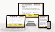 Webdesign Mobile Werbung WebdesignLand Web Design, Advertising Agency, Weaving, Design Web, Website Designs, Site Design