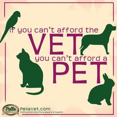 We say this because we care. For you & that potential pet!