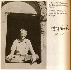 Gary Snyder in India by Uncleweed, via Flickr
