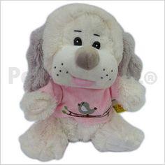 Código: TSP4581 Perrito peluche con remerita bordada