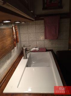 Spüle Subway 60 XL Becken rechts. Die Keramikspüle von Villeroy ...