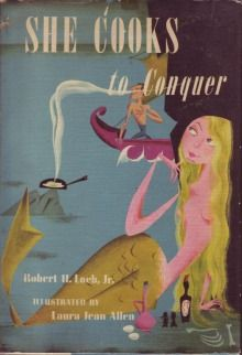 I love the illustrations in this book....the mermaid is my alter ego.