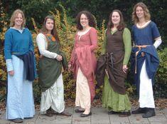 Noorderwind - Bekijk topic - Jurk (over- en onderjurk) diy sew medieval dress