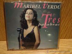 MARIBEL VERDÚ. TRES PALABRAS. B.S.O. / CD-SINGLE-PROMO / MERCURY - 1993. CALIDAD LUJO