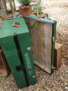 Vintage Travelling Trunk... where has it been, to and from, everywhere!!!