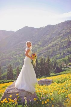 Utah Rustic Chic Wedding
