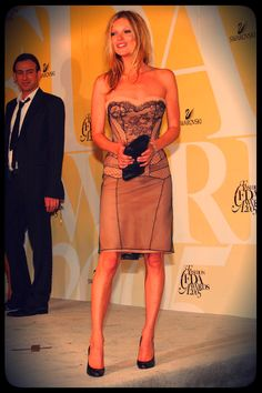 Kate Moss Fashion Icon Award from the 2005 CFDA Fashion Awards. @Swarovski
