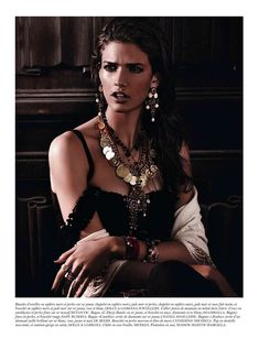 Kendra Spears by Giampaolo Sgura for Vogue Paris February 2012 | Fashion Gone Rogue: The Latest in Editorials and Campaigns