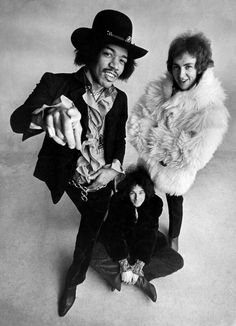 The Jimi Hendrix Experience, 1960s