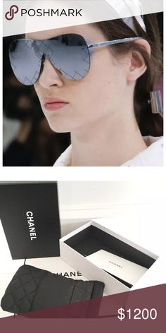 d93511fed8 Chanel shield ss 2016 shades sold out ! Silver Runway Sold out item these  are the