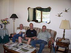 August 23, 2007. Bill, Mauri and Allan.