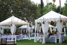 of course this beautiful idea for multiple tents is done by you david tutera. damn you.