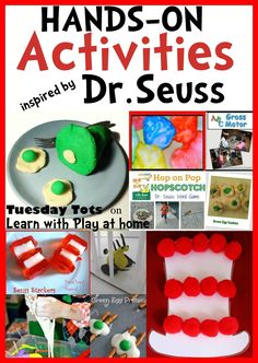 Hands-On Activities Inspired by Dr Seuss from Learn with Play at Home