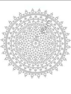 Summer Lace Doily free pattern