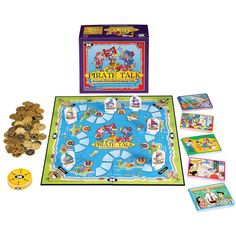 Pirate Talk Communication Board Game