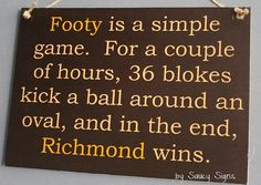 Simple Game Richmond Tigers 2017 Premiers Sign Aussie Rules