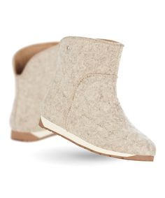 Another great find on #zulily! Sand Harper Mini Wool Boot - Women #zulilyfinds