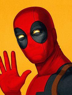Incríveis ilustrações detalhadas de Heróis e Vilões da Marvel por Mike Mitchell ~ SuperVault