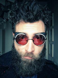 #beard #hypster #steampunk
