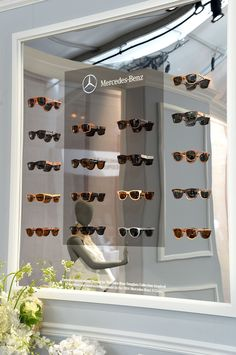124077ac9e3 Shwood glasses at The House of Mercedes-Benz Display