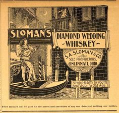 """Those Pre-Pro Whiskey Men!: Was S. A. Sloman """"Skunked"""" by His Whiskey Advertising?"""