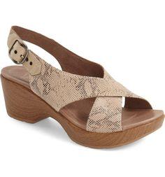 'Jacinda' Sandal. NordstromStylishSandalsWomen's FashionLeatherWomanShoes TopArches