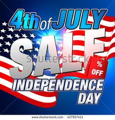 Independence Day Sale Banner. #fourthofjuly #patriotic #independenceday #july4th  #4thofjuly