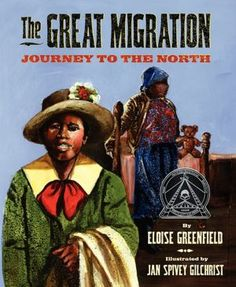 Gr 2-4: Striking images and free-verse poetry, rooted in Greenfield's personal experience, create a haunting view of a pivotal moment in U.S. history—when more than a million African Americans left their homes in the South and moved to the North.