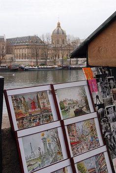 Institut de France - arrondissement de Paris -* I purchased the print on the second row while we were in Paris in March of Pont Paris, Paris 3, I Love Paris, Paris City, Beautiful Paris, Most Beautiful Cities, Paris Travel, France Travel, Places To Travel