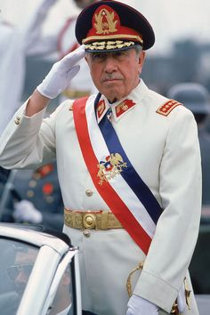 US-backed fascist military dictator of Chile - General Augusto Pinochet. Guilty for the mass murder of at least people and the torture of people in concentration camps. Victor Jara, Greatest Villains, Military Coup, Evil People, South America Travel, Great Leaders, World Leaders, Famous People, At Least