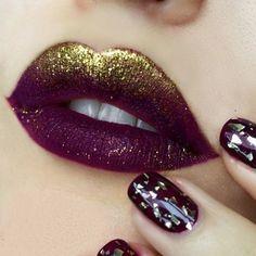 Glitter nos lábios                                                                                                                                                                                 Mais