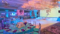 Watch our latest time lapse video of the XQ team transforming The Hilton Pearl River into a bejeweled Bat Mitzvah. From the bright ceiling over the dance floor to the centerpieces overflowing with white orchids, every corner sparkled!  Read more about this party on our blog and get a closer look at every glitzy detail of the decor, http://xquisitevents.com/2015/04/bejeweled-bat-mitzvah-for-jules-at-the-hilton-pearl-river/  #eventdecor #BatMitzvah #TimeLapse #partyplanning