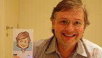 caricaturas digitais ao vivo