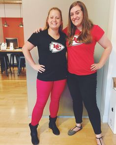 They say opposites attract... but we make an exception when it comes to the Broncos. #GOCHIEFS  #chiefs #chiefskingdom #tailgate #chiefstailgate #agencylife #bigshotlife