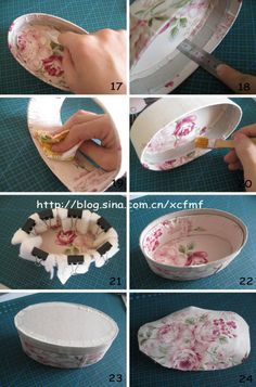 Gallery.ru / Фото #4 - Овальная шкатулка. - Los-ku-tik More Diy Crafts For Gifts, Hobbies And Crafts, Decor Crafts, Paper Crafts, Decoupage, Fabric Covered Boxes, Concrete Crafts, Vintage Box, Vintage Birds