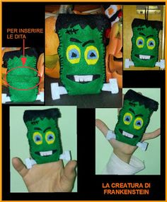 Halloween: il mostro di Frankenstein... in pannole...