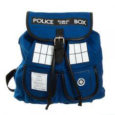 Doctor Who Tardis Knapsack: Amazon.fr: Vêtements et accessoires