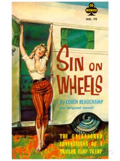 Sin On Wheels Prints by Paul Rader at AllPosters.com