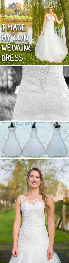 Design, sew, and rock a homemade wedding dress!