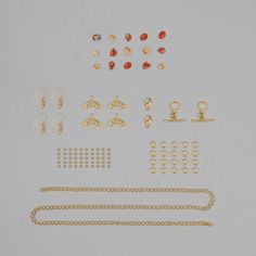 These Gold Plated Copper Finding Kits have a great variety of findings which would be suitable for all your creating needs